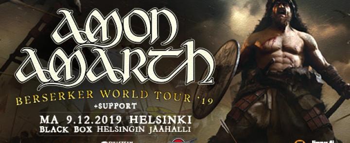 Viikinkimetallijätti Amon Amarth saapuu Jäähalliin