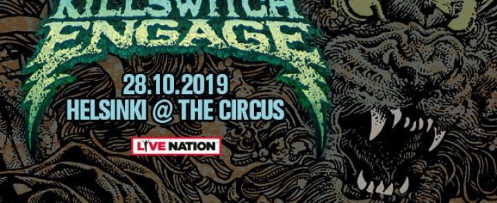 Metalcoren uranuurtaja Killswitch Engage saapuu The Circukseen