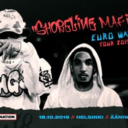 Shoreline Mafia ensi kertaa Suomeen