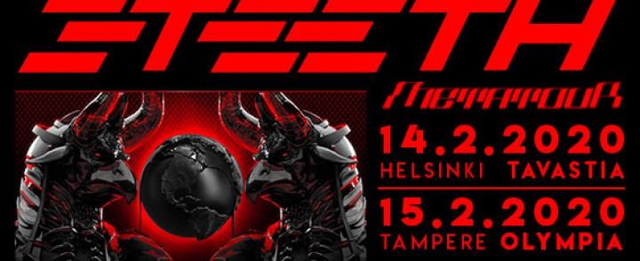 Tooliakin lämpännyt industrial-ryhmä 3Teeth saapuu Suomeen