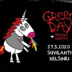 Green Day pitkästä aikaa Suomeen alkukesästä
