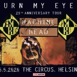 Machine Headin Burn My Eyes -kiertue saapuu The Circukseen