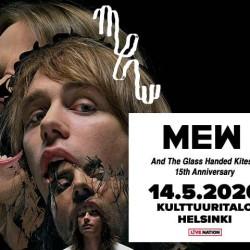 Mew juhlistaa And The Glass Handed Kites -levyn 15-vuotispäiviä Kutsalla