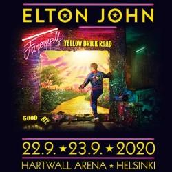 Elton Johnin jäähyväiskiertueella kaksi Suomen keikkaa