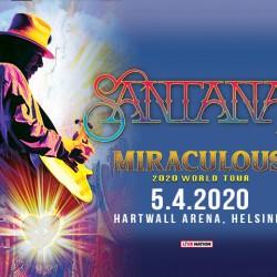 Santana saapuu Hartwallille