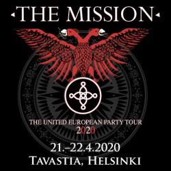 Goottirockin kulttibändi The Mission saapuu tuplakeikalle