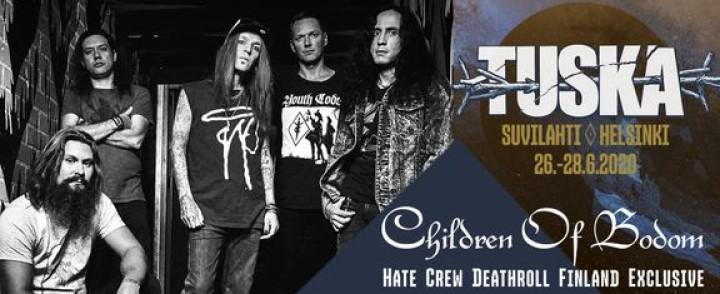 Tuskaan lisätty mm. Bodomin albumikeikka, Insomnium, Jinjer ja High on Fire