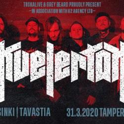 Kvelertak saapuu Helsinkiin ja Tampereelle