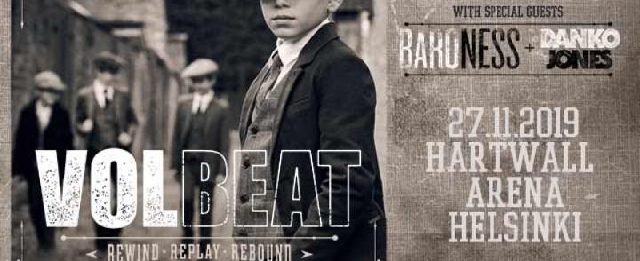 Volbeatin huominen veto peruttu, syynä Posti-lakko