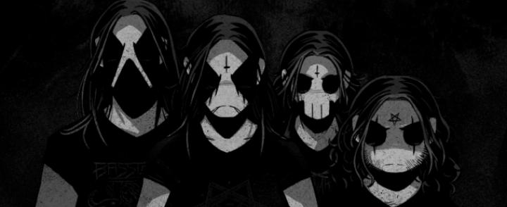 Black metal -virtuaalibändi Belzebubs festareille Suomeen ja Eurooppaan