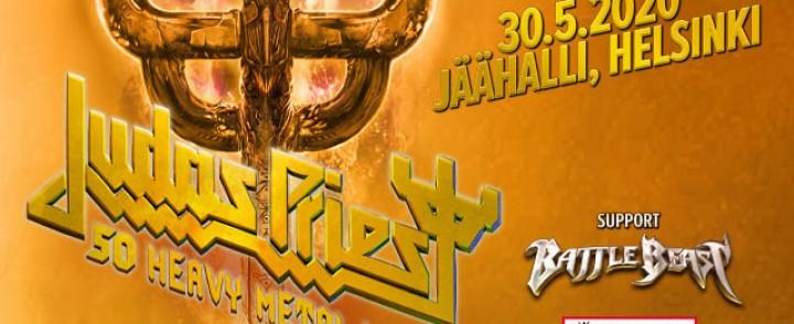 Heavy metal -legenda Judas Priest valtaa Jäähallin toukokuussa