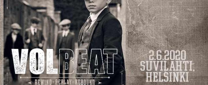 Volbeat korvaa perutun keikan Suvilahdessa kesällä