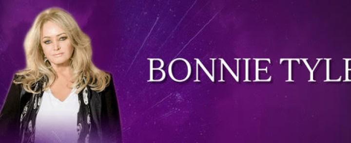 Bonnie Tyler tekee kuuden keikan Suomen-kiertueen