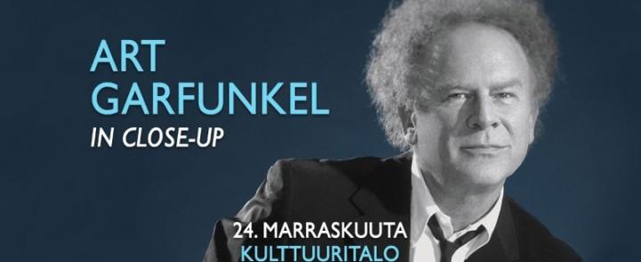 Laulajalegenda Art Garfunkel Suomeen marraskuussa