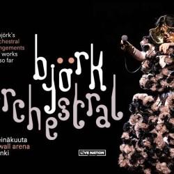 Björkiä orkesterisovituksin Hartwall Arenalla heinäkuussa