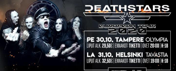 Tauolta palannut Deathstars saapuu Tampereelle ja Helsinkiin