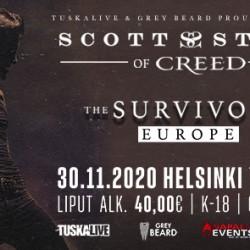 Creed-vokalisti Scott Stapp saapuu Tavastialle