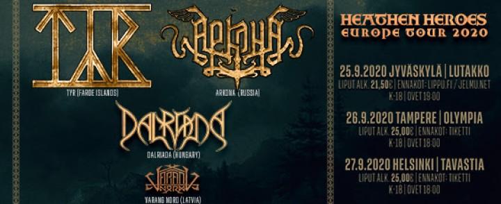 Folk metal -rundi saapuu Suomeen syksyllä