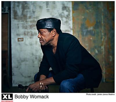 Bobby Womack edustaa festivaalin nimekästä soul-osastoa