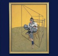FRANCIS BACON (1909-1992) THREE STUDIES OF LUCIAN FREUD $142,05,000