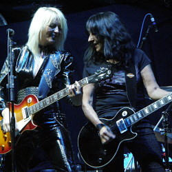 Girlschool, Hartwall Arena, Helsinki, Finland, 6.12.2015. Photo: Olli Koikkalainen