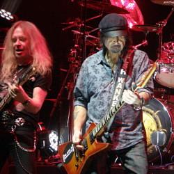 Saxon, Hartwall Arena, Helsinki, Finland, 6.12.2015. Photo: Olli Koikkalainen