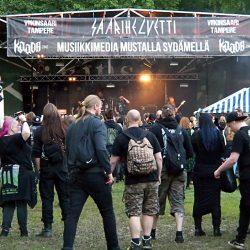Saarihelvetti, Tampere, Finland, 5.8.2017. Photo: Olli Koikkalainen