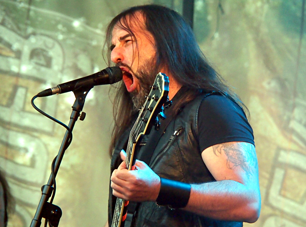 Rotting Christ, Saarihelvetti, Tampere, Finland, 5.8.2017. Photo: Olli Koikkalainen