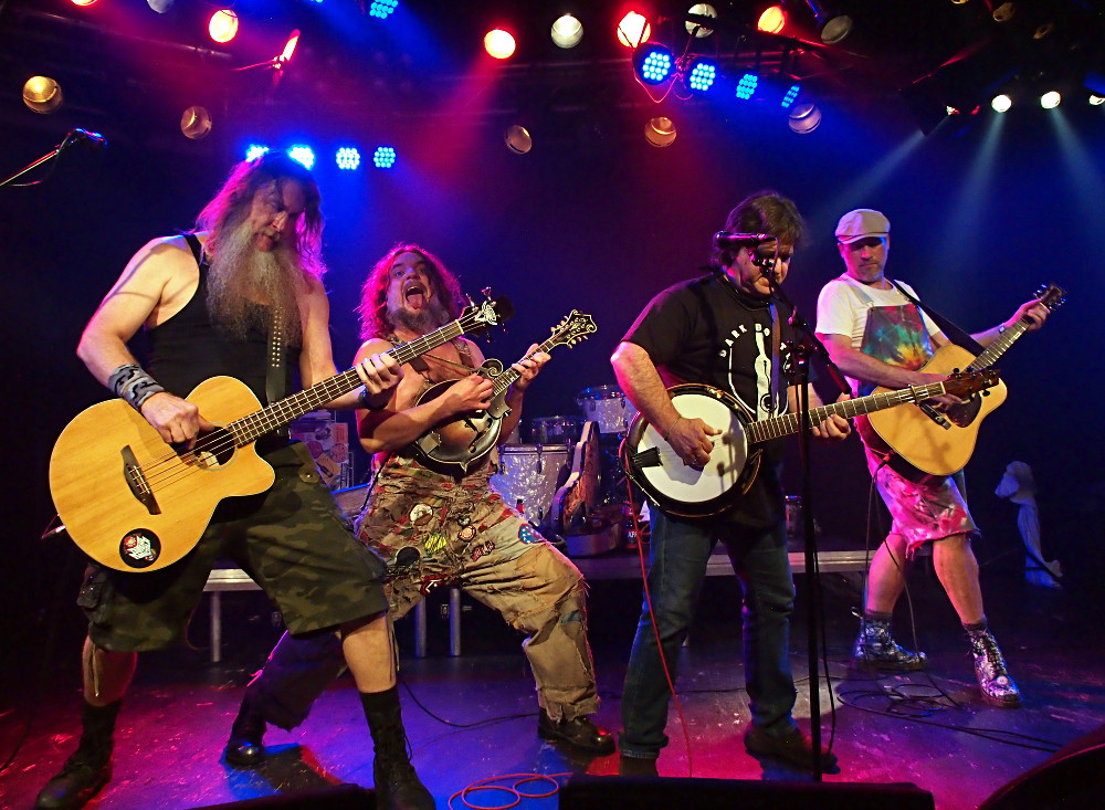 Hayseed Dixie, Klubi, Tampere, Finland, 27.9.2017. Photo: Olli Koikkalainen