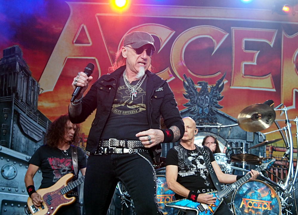 Accept. South Park, Tampere, Finland. 9.6.2018. Photo: Olli Koikkalainen