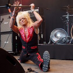 Michael Monroe. South Park, Tampere, Finland, 8.6.2018. Photo: Olli Koikkalainen