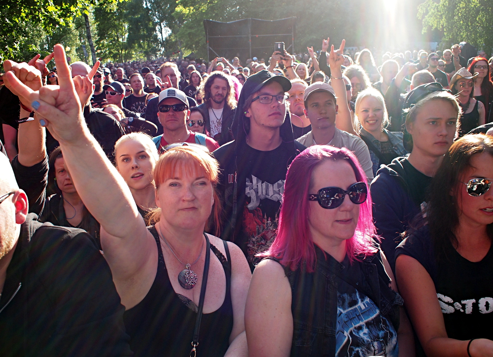 South Park, Tampere, Finland. 9.6.2018. Photo: Olli Koikkalainen