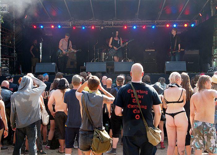 Punk Lurex. Puntala-rock, 28.7.2018, Lempäälä, Finland. Photo: Olli Koikkalainen