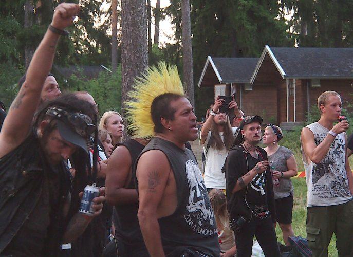 Puntala-rock, 28.7.2018, Lempäälä, Finland. Photo: Olli Koikkalainen