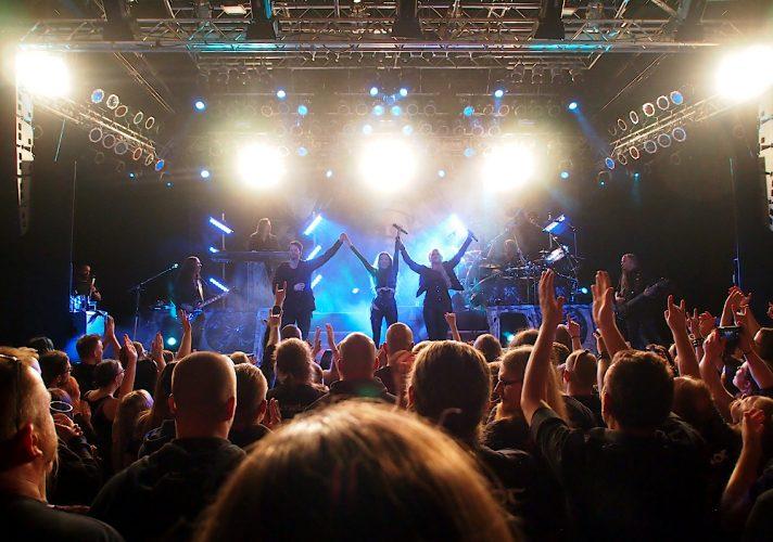 Kamelot. Pakkahuone, Tampere, Finland, 26.9.2018. Photo: Olli Koikkalainen