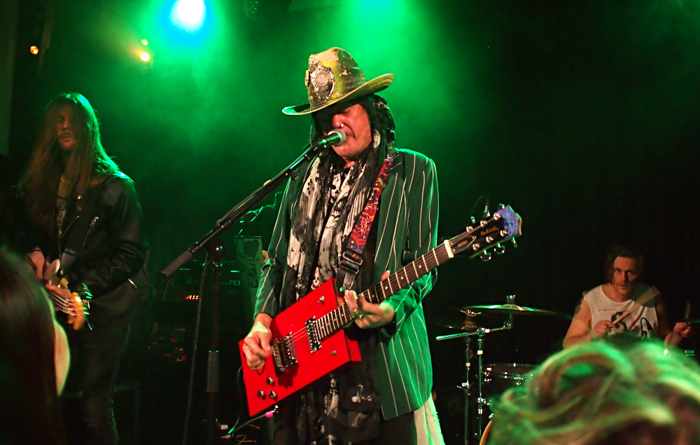 Andy McCoy, Yo-talo, Tampere, 4.1.2020. Photo: Olli Koikkalainen