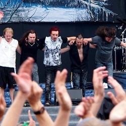 Sonata Arctica, Ratina, Tampere, Finland, 31.7.2015. Photo: Olli Koikkalainen
