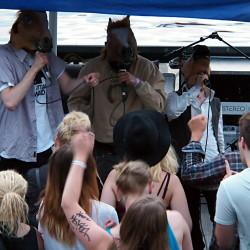 Horse Attack Sqwad, Freedom Festival, Tampere, Finland, 1.7.2016. Photo: Olli Koikkalainen